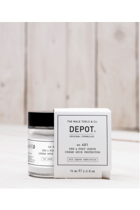 Depot no 401 pre and post shave cream skin protector 75 ml