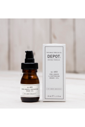 Depot pre shave and softening beard oil 30 ml No 403