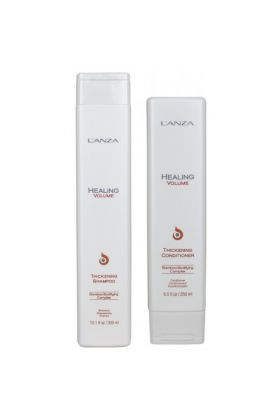 Lanza healing volume thickening shampoo og conditioner duo pack